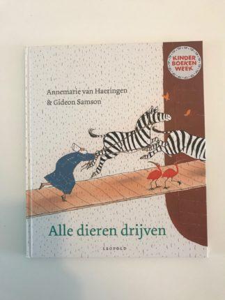 kinderboekenweek alle dieren drijven