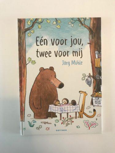 kinderboek één voor jou en twee voor mij