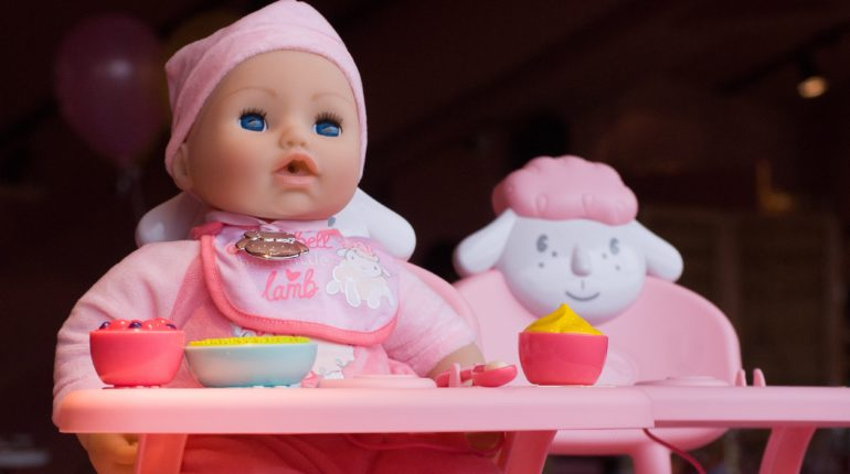 Baby Annabell lunchtafel