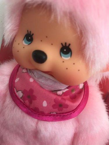 Monchichi meisje 45 cm Cherry Blossom Roze
