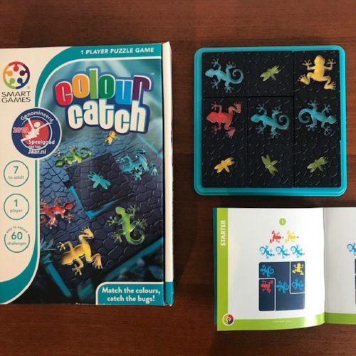 Colour Catch Smart Games genomineerd Speelgoed van het jaar 2019