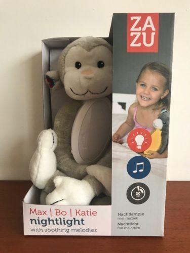 Zazu Max nachtlamp en knuffel in 1
