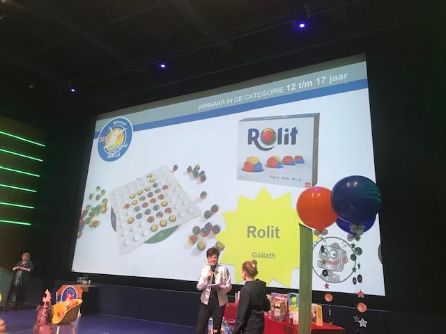Winnaars verkiezing speelgoed van het jaar 2019 Rolit