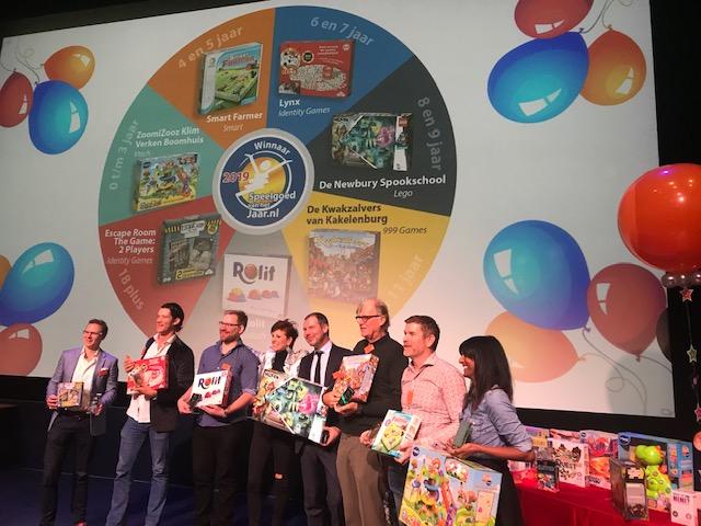 Winnaars verkiezing speelgoed van het jaar 2019