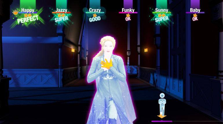 Just Dance 2020 Frozen 2 soundtrack