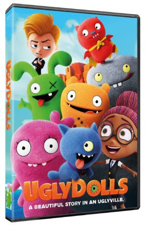 Ugly dolls op dvd