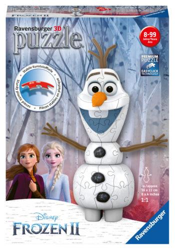 3D puzzels frozen 2