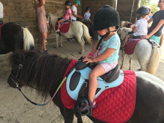 paardrijden kleuter