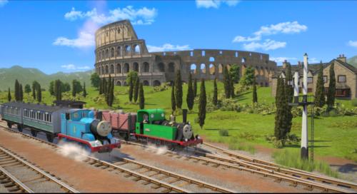 Thomas de trein opgraven en ontdekken