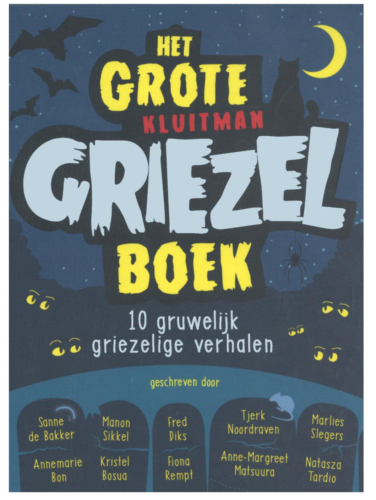 kluitman het grote griezelboek