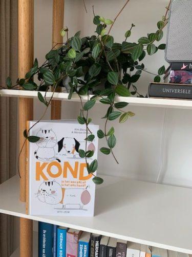 Kond kinderboek kat hond