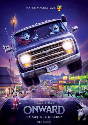 Onward filmposter Disney en Pixar