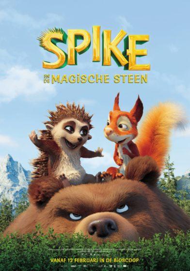 Spike en magische steen bioscoopfilm poster