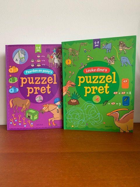 Puzzelpret puzzelboeken kleuters