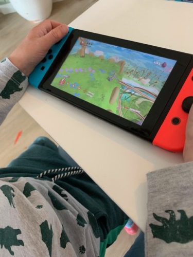 Gigantosaurus nintendo switch