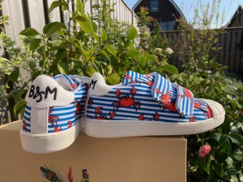 Bear Mees schoenen gemaakt van gerecyclede pet flessen