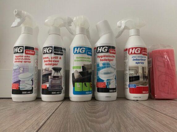 HG schoonmaakartikelen