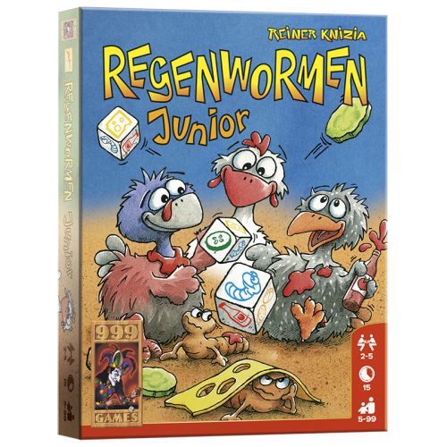 regenwormen junior dobbelspel
