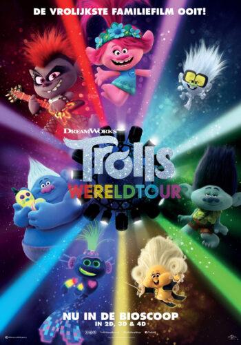 trolls wereldtour poster