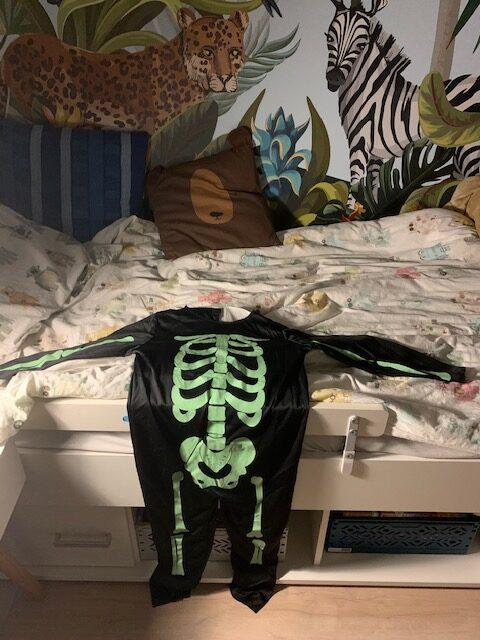 halloween kostuum kinderen skeleten
