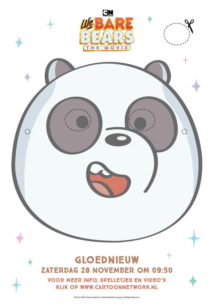 Berenmasker pandabeer