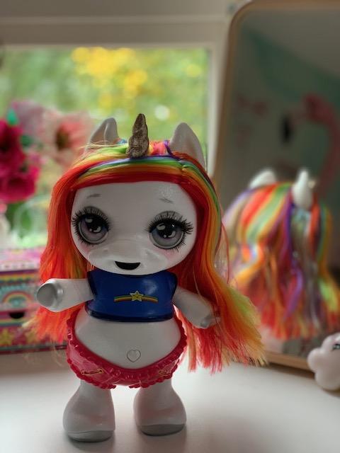 Poopsie dancing unicorn regenbooghaar