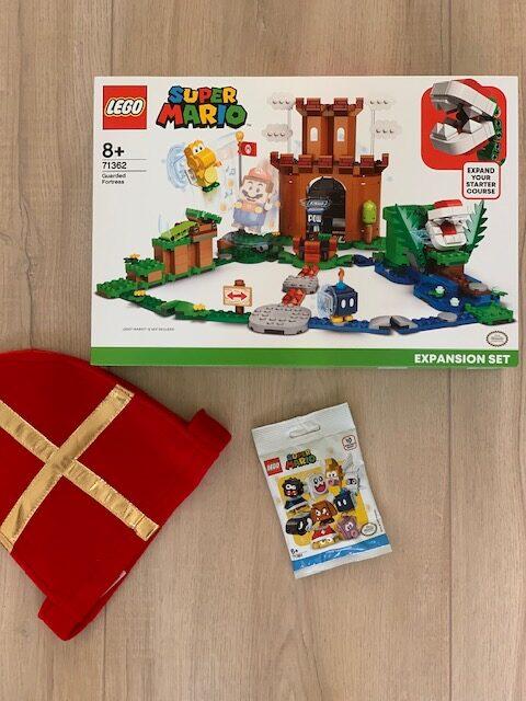 supermario lego kasteel