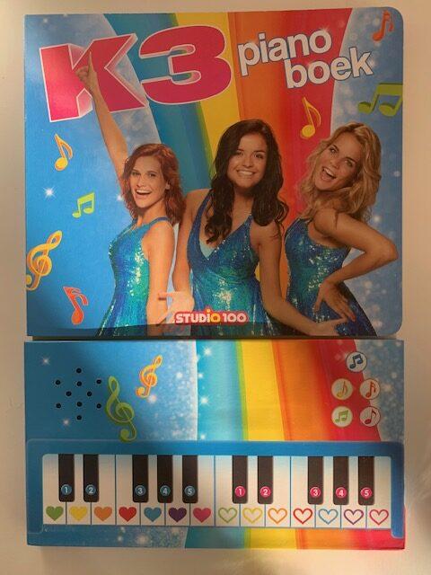 K3 pianoboekje