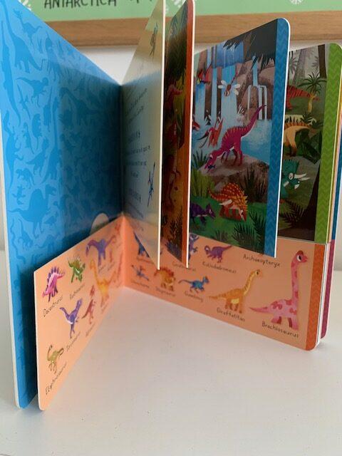 101 dinosaurussen flapjes boek
