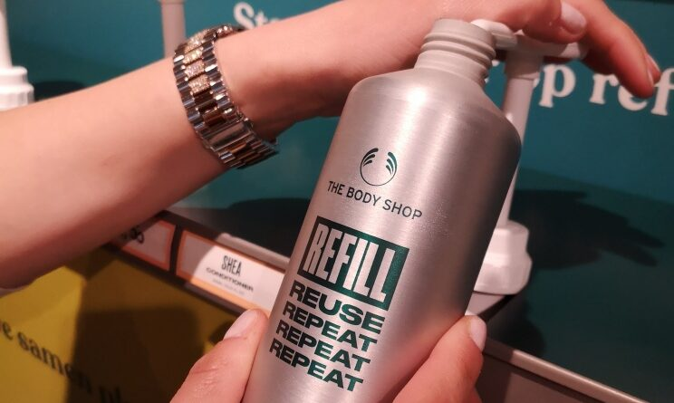 Refill station the body shop
