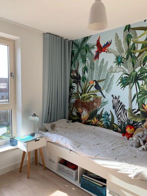 jongenskamer jungle behang