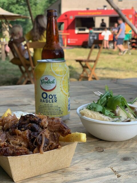 Campground vliegveld twente foodtrucks
