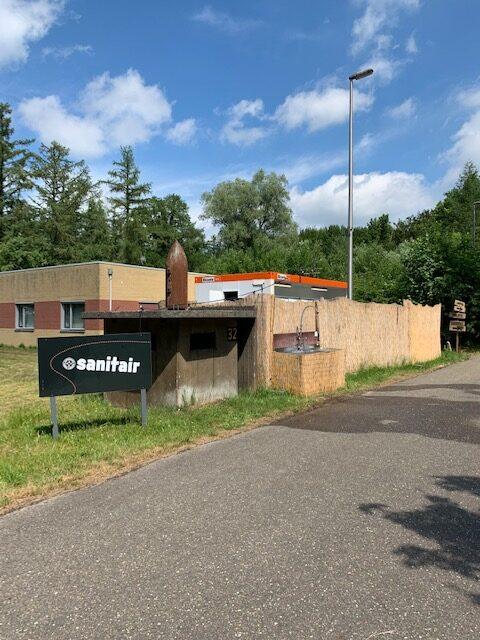 Campground vliegveld twente sanitair