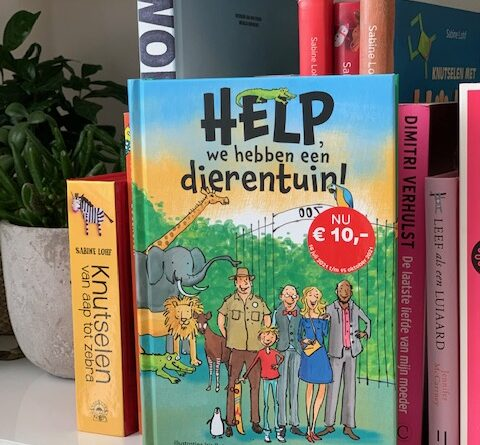 kinderboek help we hebben een dierentuin