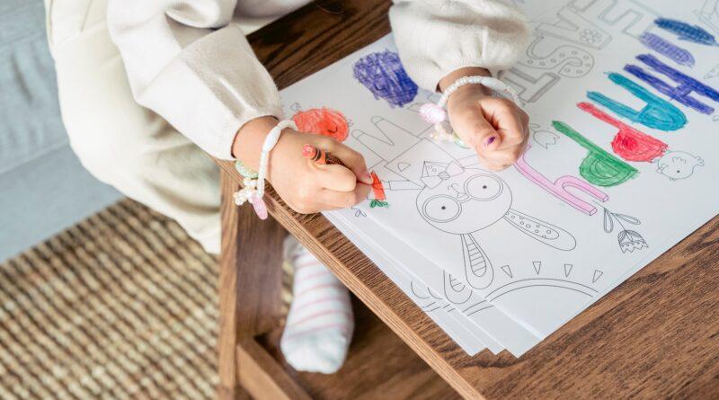 meisje tekening