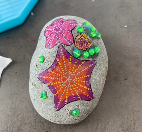 totum stenen versieren