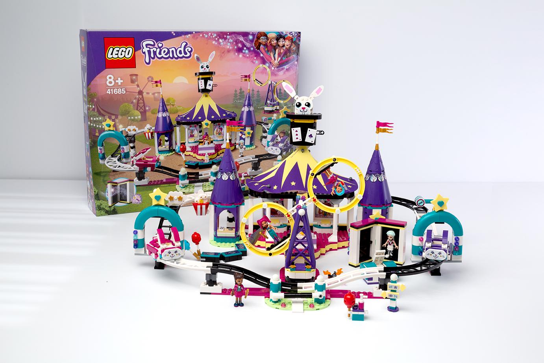 Lego friends magische achtbaan