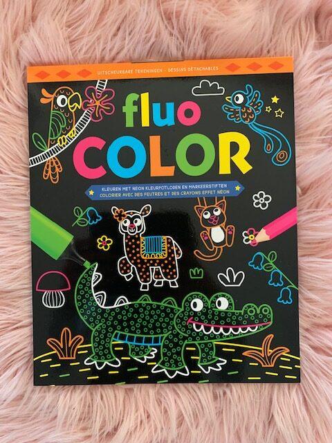 fluo color doeboek
